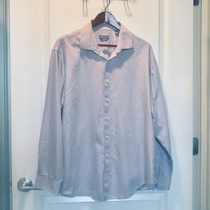Kenneth Cole Reaction Gingham in Peach/Periwinkle